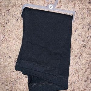 9-12m black baby girl leggings